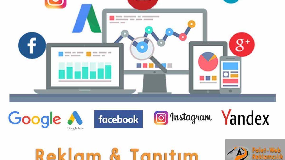 Google ads facebook reklamları