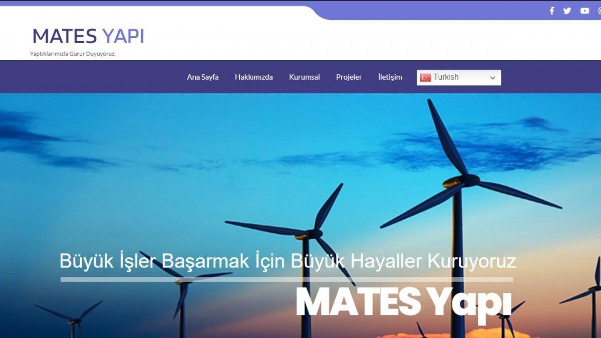 mates yeni (palet-web.com) Ankara web sayfası
