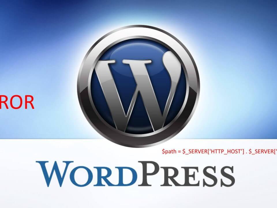 Wordpress-Error function 73